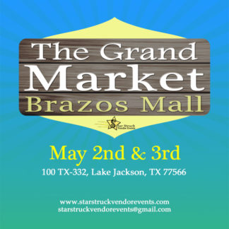 Star Struck Vendor Events May 2nd and 3rd 2020 Flier
