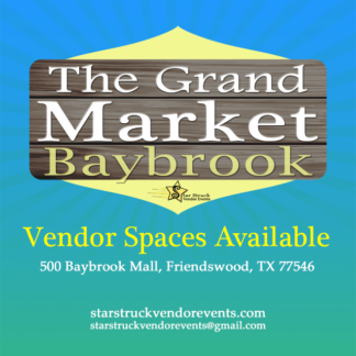 Vendor Events at Baybrook Spaces Available