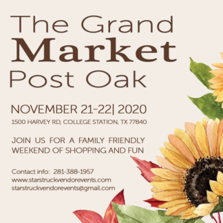 The Grand Market at Post Oak November 2020